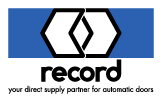 record - your direct supply partner for automatic doors